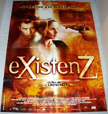 EXiSTENZ David Cronenberg Jennifer Jason Leigh Jude Law LARGE French POSTER
