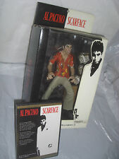 "Scarface - The Runner RARE BLACK BACK 10"" 1/6 Figure mezco WITH MATCHING MOVIE!"