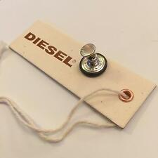 Diesel Type1 Metal Button & Pin BNWOT Brand New For Jeans / Shorts 32 34 36 38 l