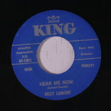 BILLY LAMONT: Hear Me Now / Come On Right Now 45 (repro) Soul