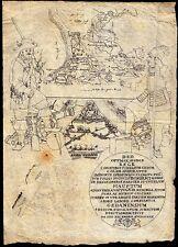 Polen, patriotische Tuschzeichnung zur vaterländischen Geschichte 1659/1815 (?)