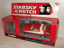 Corgi 57402 Starsky & Hutch figures & Ford Gran Torino Box set in 1:36 scale.