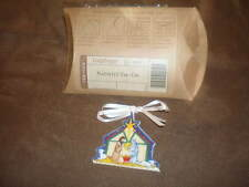 Longaberger Nativity Basket Tie-On