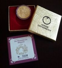 "Austria 100 euro Gold Proof Coin 2011 ""The Crown of St. Wenceslas"" New"