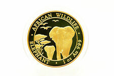 Somalia - 1 OZ ELEFANTE GOLD 2015-Top