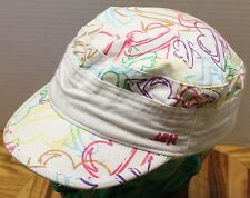 NICE WOMENS LOST HAT MULTI-COLOR DESIGN OSFA CADET/MILITARY STYLE VGC