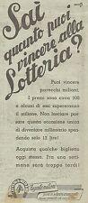 W1195 Lotteria di Merano - Pubblicità 1926 - Vintage Advert