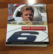 Mark Donohue Technical Excellence At Speed Hardcover Book First Edition SIGNED