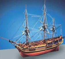 "Beautiful, Detailed Wooden Model Ship Kit by Caldercraft: the ""HMAV Bounty"""