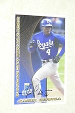 ANGEL BERROA SIGNED AUTOGRAPHED 2003 KANSAS CITY ROYALS POLICE CARD