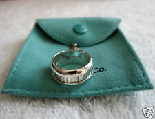 BRAND NEW AUTHENTIC TIFFANY & CO ATLAS STERLING SILVER 925 RING SIZE 7~7.5
