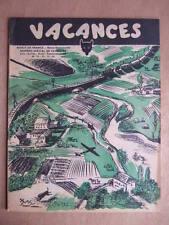 LOUVETEAU N° 11/12/13/14 - JUIN/SEPTEMBRE 1949 JOURNAL DES MEUTES SDF SCOUTISME