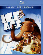 Ice Age (Blu-ray/DVD, 2015, 2-Disc Set) NEW