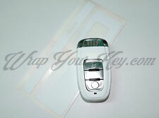 White Matte Key Wrap Cover Audi SMART Remote A1 A3 A4 A5 A6 A8 TT Q3 5 Q7