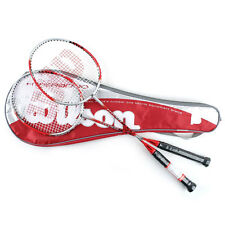 Wilson Hyper 9000 Badminton Racket 2PCS Red, Silver WRT8505001