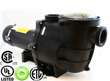 """Energy Efficient Variable Speed 2 HP Swimming Pool Pump Strainer UL LISTED 2"""""""