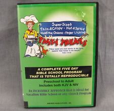 Tasty Treats Vacation Bible School Program 5 Day Course CD-ROM Windows Christian