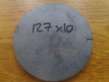 10mm Mild Steel Sheet Plate Circle Ring 127x10