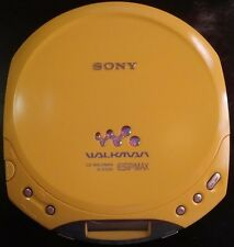 Sony D-E220 Yellow Walkman Portable CD Player DE220 Discman Tested ESP Max
