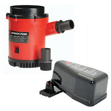 Johnson Pump 2200 HDuty Bilge Pump w/Free AS888 Automatic Switch-22004FSP