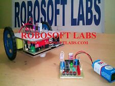 RF Controlled Wireless Robot DIY ( Do It Yourself ) PROJECT Kit