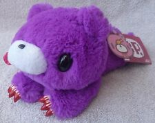Official Chax GP TAITO Gloomy Bear Laying Purple Soft Plush Toy Japan Kawaii 9""