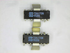 "TDA1170N ""Original"" SGS  12P DIP/ZIP IC With heat sink tabs  2 pcs"