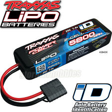 Traxxas 1/10 Stampede 2WD XL-5 POWER CELL LIPO BATTERY 5800MAH 7.4V 25C 2S ID