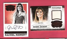 RACHEL REINERT AUTOGRAPH WORN MEMORABILIA RELIC SWATCH CARD PANINI COUNTRY MUSIC