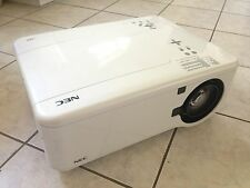 NEC NP4001 DLP HD Widescreen Large Venue Projector 4500 LUMENS! NEW LAMPS!