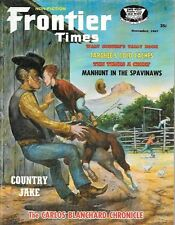Frontier Times Oct.1967 Targhee Gold Caches Spavinaw Green River Santa Fe Trail