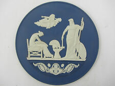 WEDGWOOD 2009 NAVY BLUE JASPERWARE PLAQUE