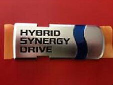 GENUINE TOYOTA PRIUS HYBRID SYNERGY DRIVE REAR TRUNK EMBLEM DECAL (75441-47021)