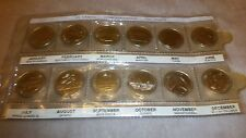 12 1867-1992 ELIZABETH CANANA 25 CENT CONFEDERATION COIN SET
