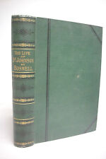 1875 THE LIFE OF SAMUEL JOHNSON LLD by James Boswell * Unabridged Edition