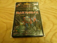 IRON MAIDEN - THE TROOPER (NEW) SEW ON W-PATCH OFFICIAL BAND MERCHANDISE