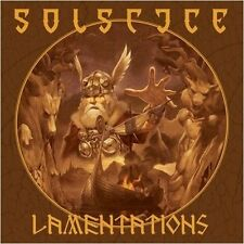 Solstice (uk) - Lamentations [orange vinyle] LP