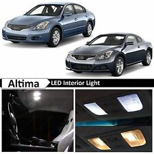 16x White LED Lights Interior Package Kit for 2007-2012 Altima Sedan Coupe