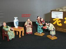 KING AND COUNTRY HK185M STREETS OF OLD HONG KONG CHINESE NEW YEAR FIGURE SET