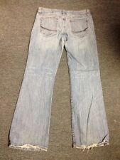 Jimmyz California Size 11/12 R Light Wash Jeans Back Legs Walked On Look Stretch