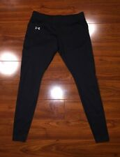 UNDER ARMOUR Cold gear Women's Running Leggings Small Fitted Pants Black