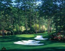 The 10th at Augusta by Larry Dyke The Masters Golf 9x12 Open Edition Paper Print