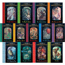 A Series of Unfortunate Events 13 Books Gift Box Set Lemony Snicket Bad Beginnin