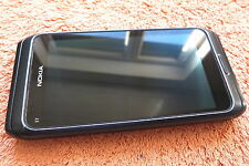 Nokia E7 * Grau 16GB 4Zoll * GUT * Symbian AMOLED Slider QWERTZ GPS 8MP