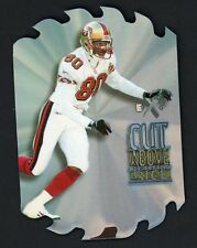 1997 Skybox EX2000 Cut Above #6 Jerry Rice San Francisco 49ers Die Cut Insert