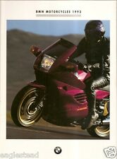 Motorcycle Brochure - BMW - Product Line Overview - 1993 (DC229)