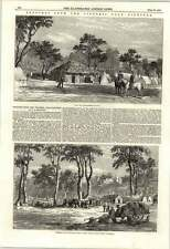 1853 Victoria Gold Diggings Old Post Office Preaching Jail