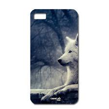 """CUSTODIA COVER CASE LUPO BIANCO FORESTA PER iPHONE 6 4.7"""""""