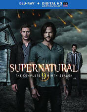 Supernatural: The Complete Ninth Season (Blu-ray, 2014, 4-Disc) No Digital
