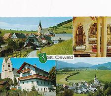 AK aus St. Oswald, Mehrbildkarte, Steiermark   (C43)